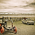 Old Case Tractor by Marilyn Hunt
