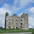 Old Castle In Ireland by Jeanette Oberholtzer
