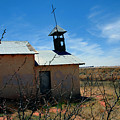 Old Chapel On Route 66 In Newkirk Nm by Susanne Van Hulst