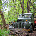 Old Chevy Oil Truck 1  by Chad Rowe