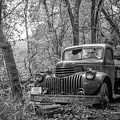 Old Chevy Oil Truck 2 by Chad Rowe