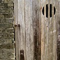 Old Chinese Village Door Series Fifteen by Kathy Daxon