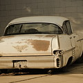 Old Cadillac In Sepia Tones by Colleen Cornelius