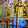 Old Church Altar by Rick Bragan