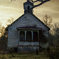 Old Church At Sunset by Krystal Riffice