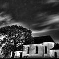 Old Church B/w  by Michael Damiani