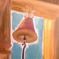 Old Church Bell by Cindy  Riley