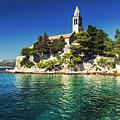 Old Church On Croatian Island by Sandra Rugina