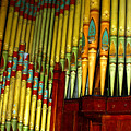Old Church Organ by Anthony Jones