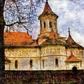 Old Church With Red Roof by Jeff Kolker