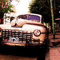Old Classic Dodge, On The Streets Of Buenos Aires by Idan Badishi