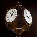 Old Clock by Floyd Morgan Jr