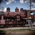 Old Clovis Train by Anthony Lindsay