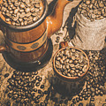 Old Coffee Brew House Beans by Jorgo Photography - Wall Art Gallery
