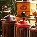 Old Coffee Grinders by Riccardo Maffioli