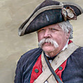 Old Colonial Soldier Portrait by Randy Steele
