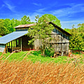Old Country Barn by The American Shutterbug Society