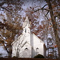 Old Country Church In Alabama by Jackie McNeill