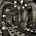Old Courthouse Entryway by Mike Oistad