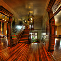 Old Courthouse Hallway by Mike Oistad