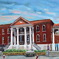 Old Courthouse In Ellijay Ga - Gilmer County Courthouse by Jan Dappen