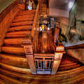 Old Courthouse Stairway by Mike Oistad