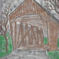 Old Covered Bridge by James Back