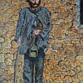 Old-crafts-the-lamplighter-italy-1800 by Vincent Consiglio