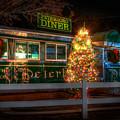 Old Diner Car - Peterboro Diner by Joann Vitali