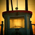 Old Dixie Boat Cab Sunrise by Michael L Kimble