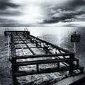 Old Dock Bw by Dogukan Benli