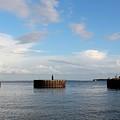 Old Docks Of Gasparilla by Robert Wilder Jr