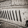 Old Dodge Grille by Marilyn Hunt