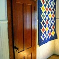 Old Door - New Quilt by RC DeWinter