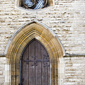 Old Door And Window York by Mo Barton