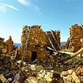 Old Doors Kinishba Ruins by Jeff Swan