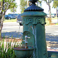 Old Drinking Fountain by Barbara Oberholtzer