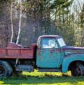 Old Dump Truck by Alana Ranney