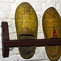 Old Dutch Wooden Shoes by Sally Weigand