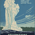 Old Faithful At Yellowstone by Unknown