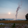 Old Faithful Steam by Michael Ver Sprill