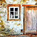 Old Farm House by Sher Nasser