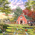 Old Farm House Variant 1 by MGL Meiklejohn Graphics Licensing