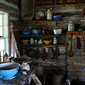 Old Farm Kitchen by Joanne Coyle