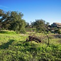 Old Farm Relic In Simi Valley by Lynn Bauer