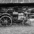 Old Farm Tractor by M G Whittingham