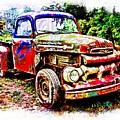Old Farm Truck by Don Barrett