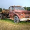 Old Farm Truck by Rod Cuellar