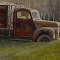 Old Farm Truck by Ron Hamilton