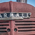 Old Farmall Tractor Grill And Nameplate by Edward Fielding